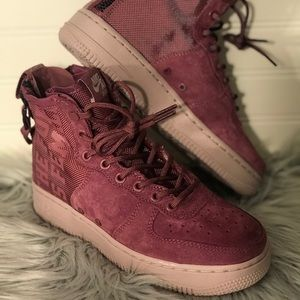"""WOMENS AIR FORCE 1 MID """"THE FORCE IS FEMALE"""""""